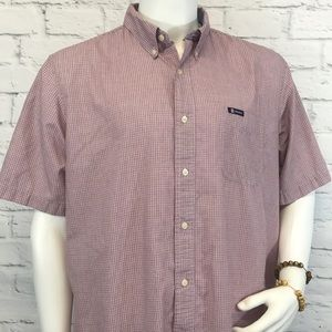 Men's Chaps Easy Care shirt size XL short sleeve